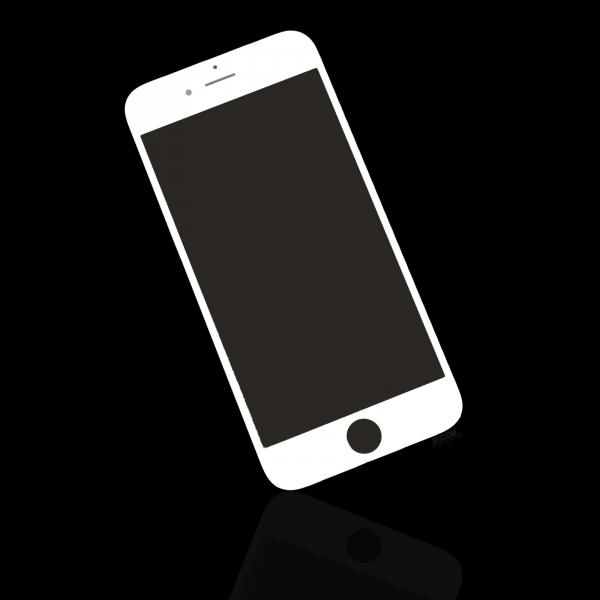 Pour apple iphone 6 4 7 cran lcd verre disque avant for Mac fenetre hors ecran