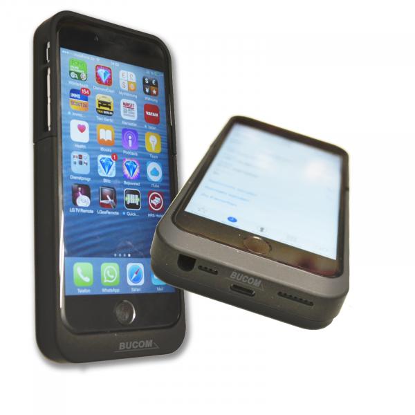 f r apple iphone 6 6s power bank mobile lade schale case akku battery 3200mah ebay. Black Bedroom Furniture Sets. Home Design Ideas