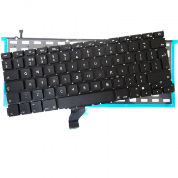 "MacBook Pro 13"" Retina A1502 2013 Me864 Me866 UK QWERTY Tastatur Keyboard mit Beleuchtung backlight"