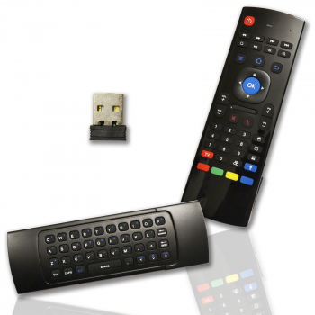 Air Mouse 2.4G Wireless Android TV Fernbedienung mit USB Stick Remote Komando für IP Receiver Box
