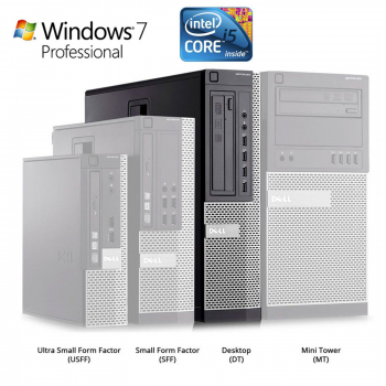 Dell Optiplex PC 980 DT i5 3.20GHz 4GB RAM 250GB HDD Windows 7 PRO