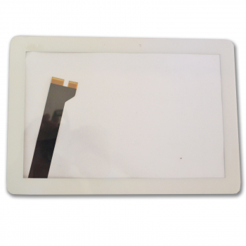 "Display Glas für Asus MEMO PAD 10"" ME102 Touch Screen Front Scheibe Digitizer weiss"