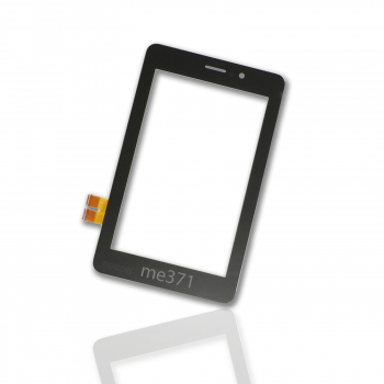 "Display Glas für Asus Fonepad 7"" ME371 ME371MG LCD Touch Screen Front Scheibe Digitizer schwarz"