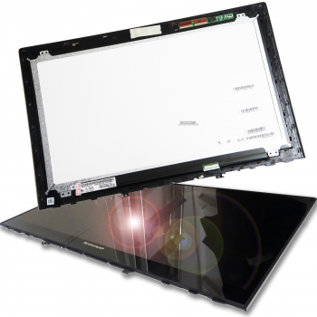 "15,6"" LENOVO Ideapad Y50-70 Touch Screen Assembly Display LED mit Front Scheibe LP156WF4 18201638"