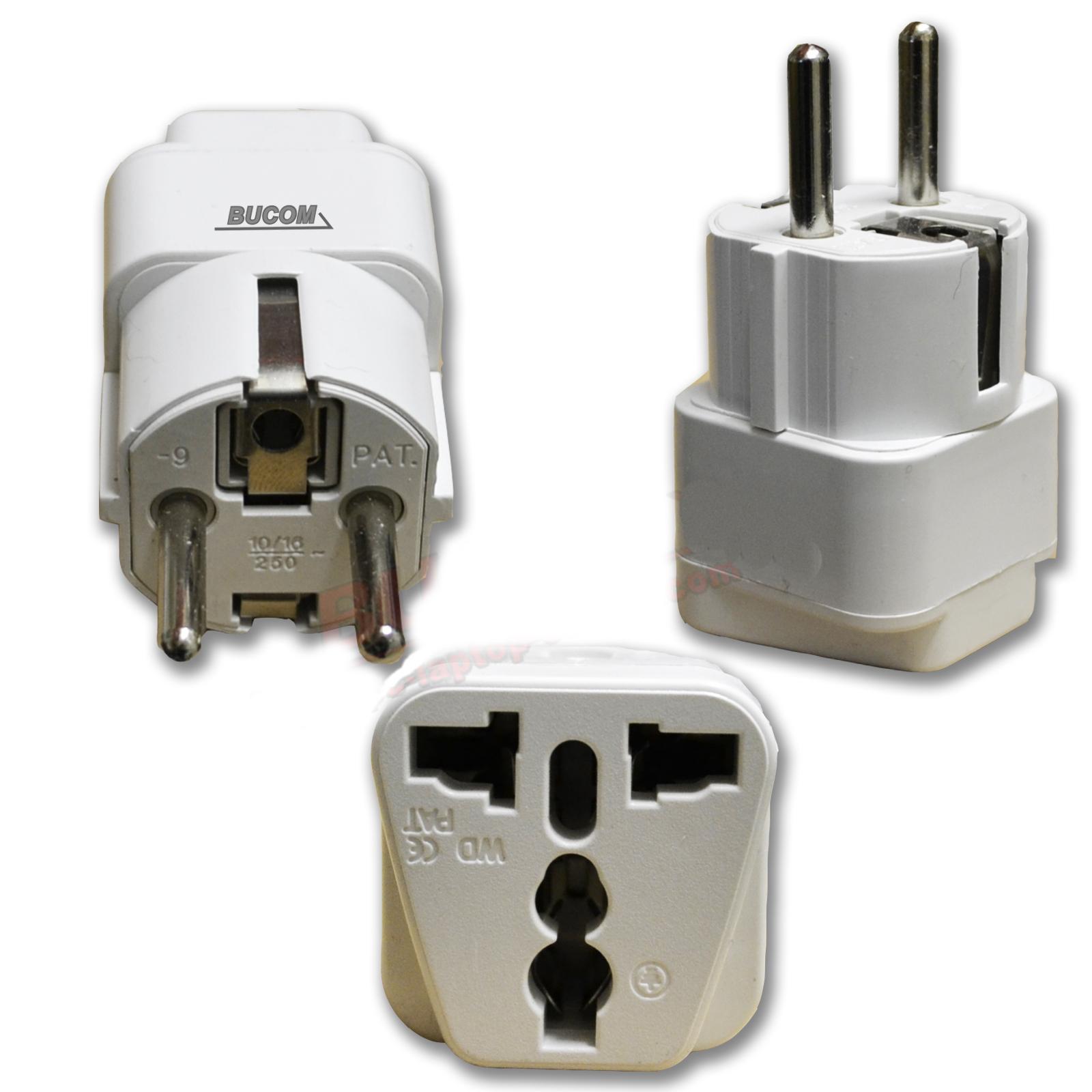 PC-LAPTOP-CENTER.COM - 220V Reise Strom Netz Adapter ...