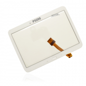 "Samsung Galaxy Tab 3 10.1"" GT- P5200 P5210 Touchscreen Display Front Glas Digitizer Displayglas Touchpad weiss + Kleber"