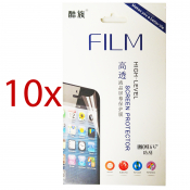 "10x iPhone 6 Display Schutzfolie 4,7"" Screen Protector mit Reinigungstuch Displayfolie"